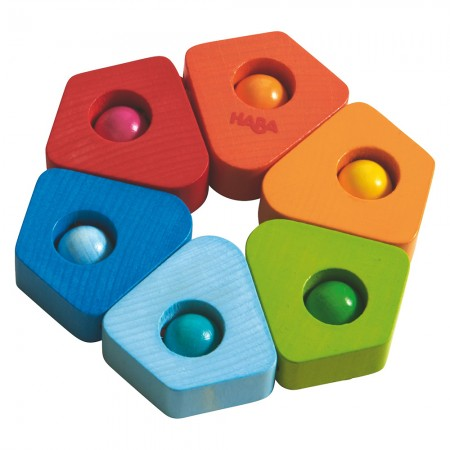 Haba Colour Splodge Clutching Toy