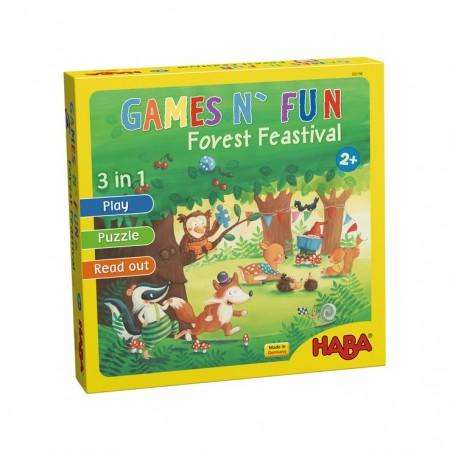 Haba Games 'n'' Fun: Forest Feastival