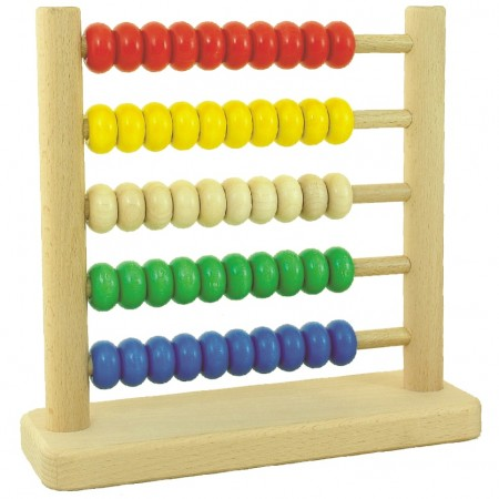 Bajo 50-Bead Tall Abacus