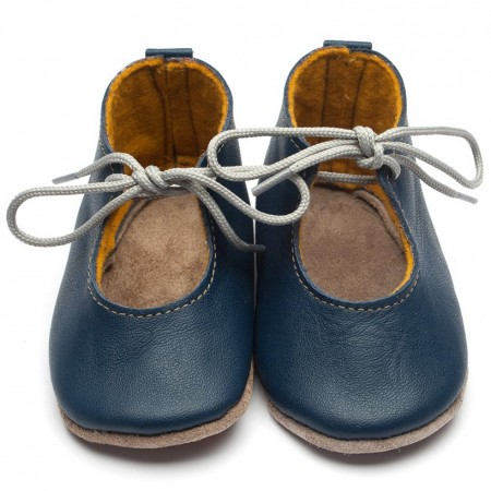 Inch Blue Heirloom Mabel Navy Shoes