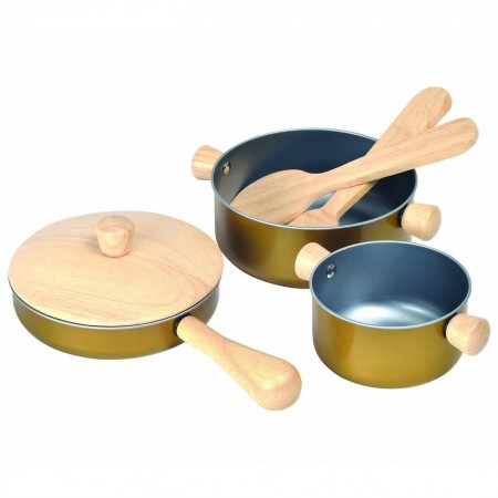 Plan Toys Cooking Utensils Set