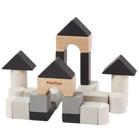 Plan Toys Mini Construction Set Tin