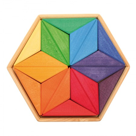 Grimm's Star Complementary Colour Puzzle