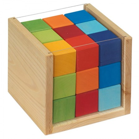 Glückskäfer 27 Coloured Cubes