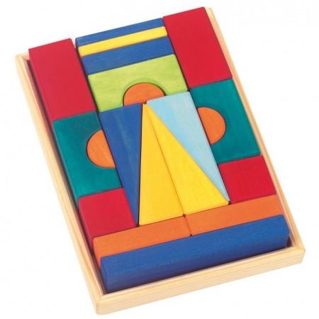 Glückskäfer 20-Piece Small Toscana Blocks