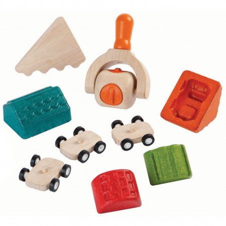 Plan Toys Build-A-Town Dough Set