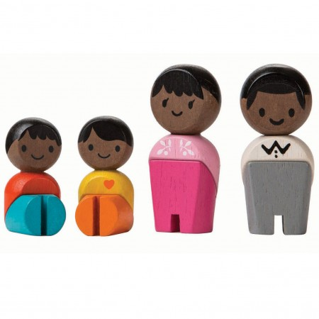 Plan Toys Afro-American Family PlanWorld