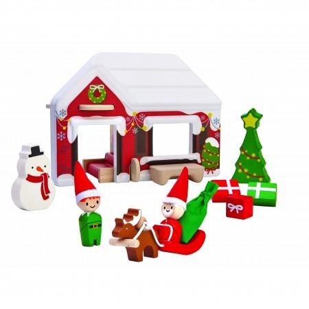 Plan Toys Santa's House