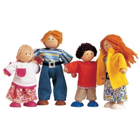Plan Toys Dolls House Modern Doll Family