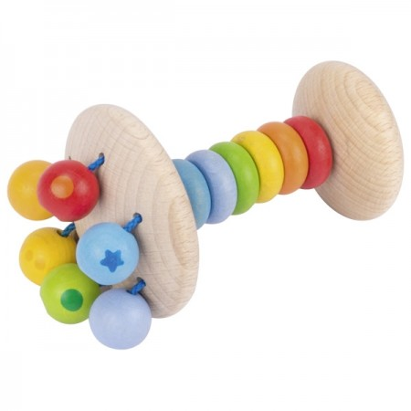 Heimess Rainbow Rattle Touch Ring