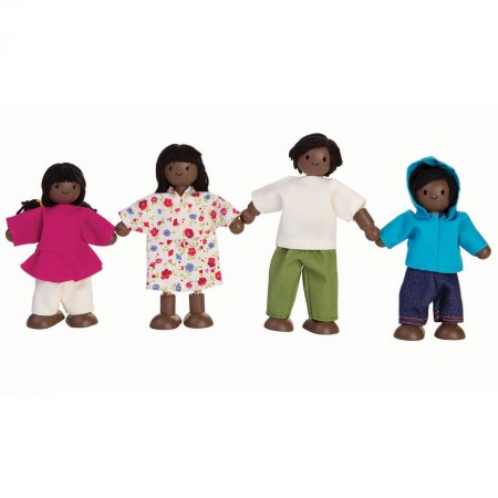 Plan Toys Brown Skin Family