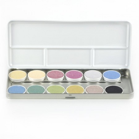 OkoNorm 12 Watercolour Paints In A Tin