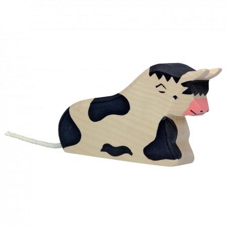 Holztiger Black Lying Bull