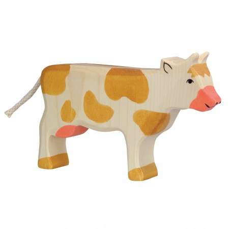 Holztiger Brown Standing Cow