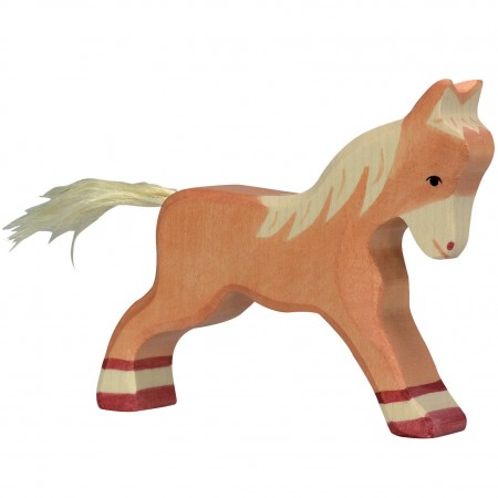Holztiger Light Brown Running Foal