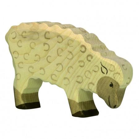 Holztiger Feeding Sheep