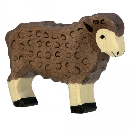 Holztiger Black Standing Sheep