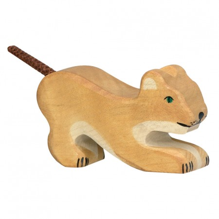 Holztiger Small Playing Lion