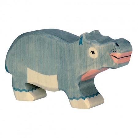Holztiger Small Hippopotamus
