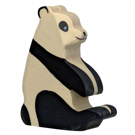 Holztiger Sitting Panda