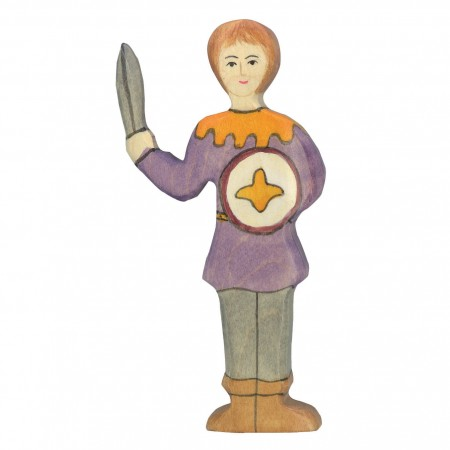 Holztiger Boy In Purple Shirt