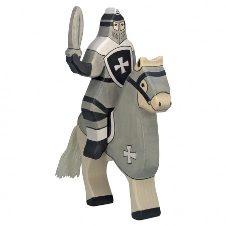 Holztiger Black Tournament Knight (Without Horse)