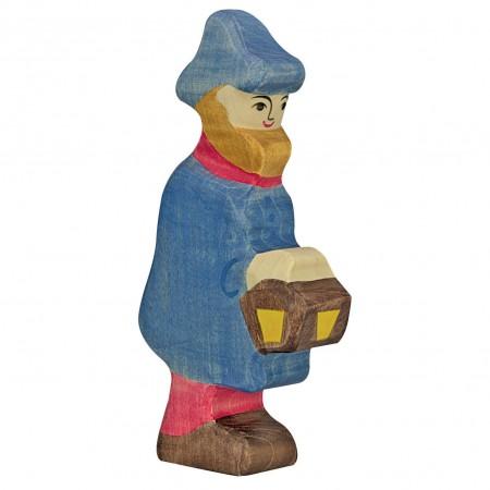 Holztiger Shepherd With Lamp