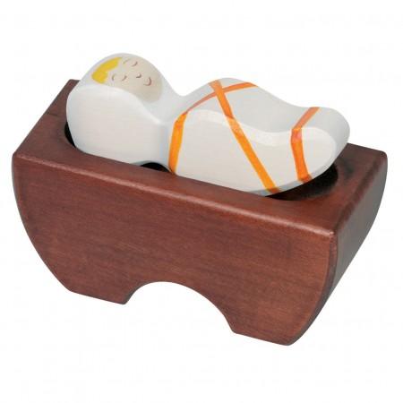 Holztiger Baby Jesus 3