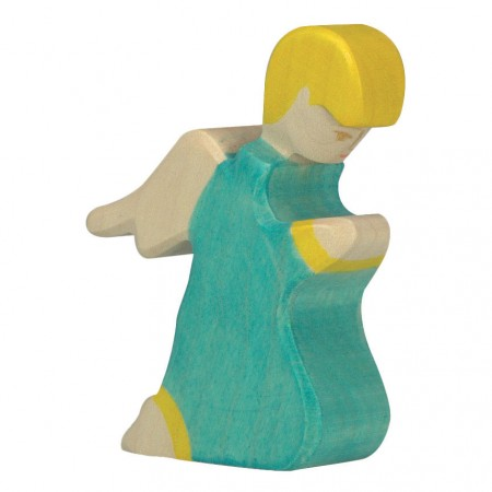 Holztiger Kneeling Angel