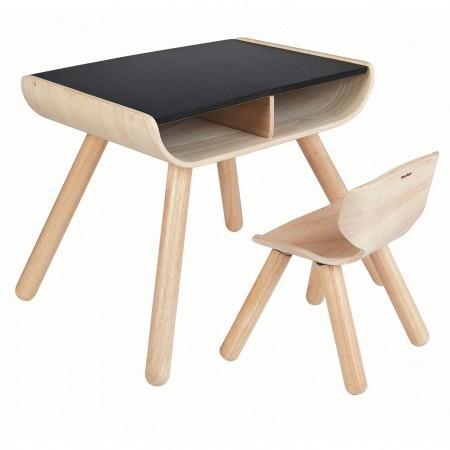 Plan Toys Black Table & Chair