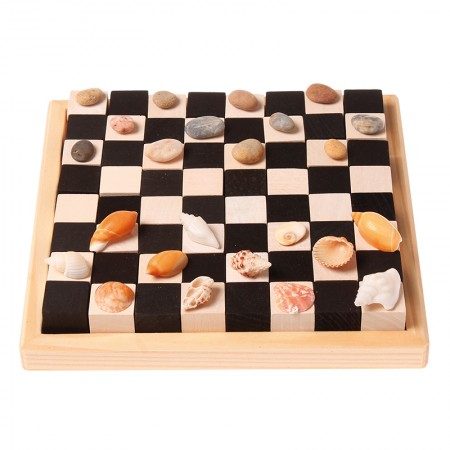 Grimm's Monochrome Chess Building Set