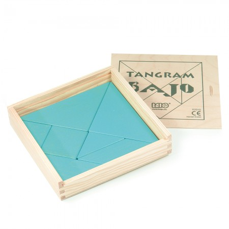 Bajo Blue Tangram