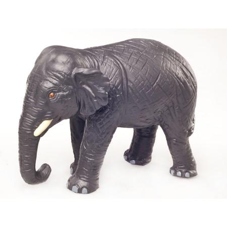 Green Rubber Toys Elephant