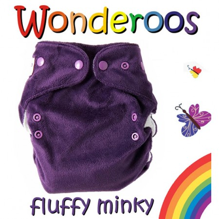 Wonderoos V3 Minky Single Nappy