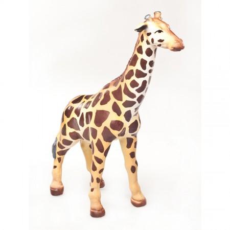 Green Rubber Toys Giraffe