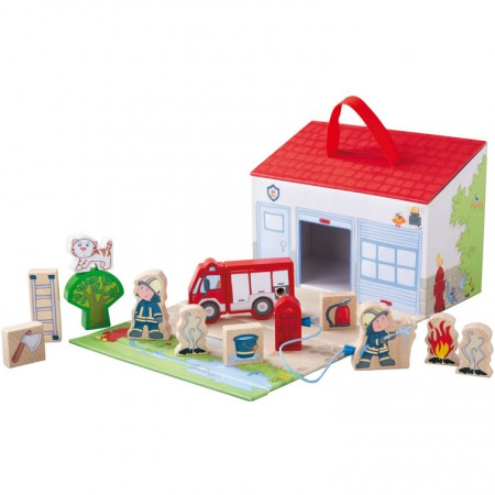 Haba Large Play Set Fire Brigade