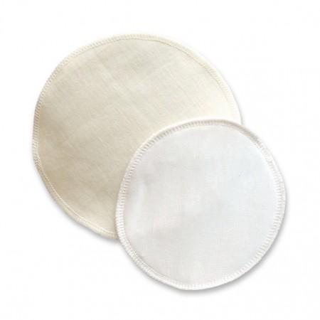 Silk & Wool Breast pads (10cm)