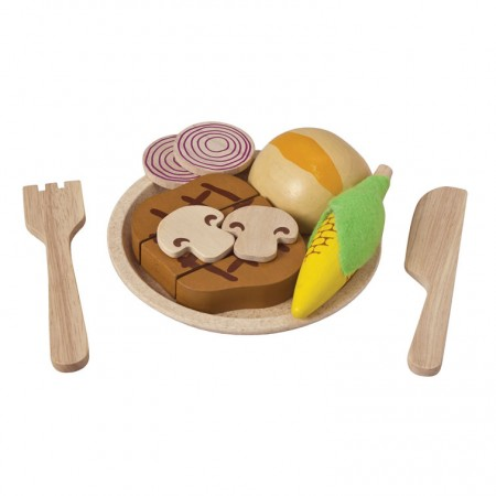 Plan Toys Steak Set