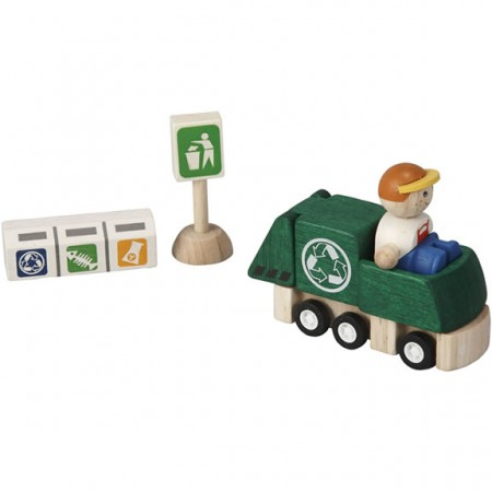 Plan Toys Recycling Truck Set PlanWorld
