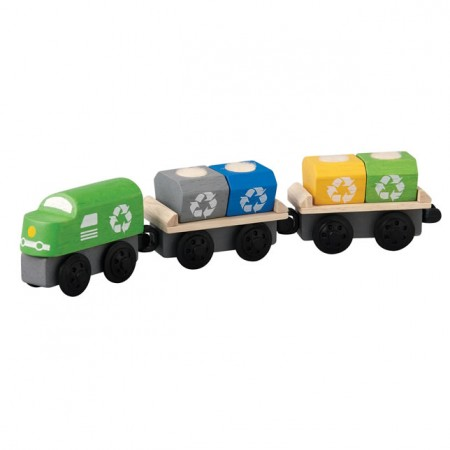 Plan Toys Recycling Train