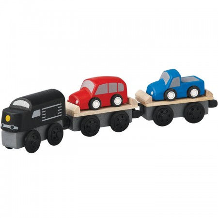 Plan Toys Car Carrier Train
