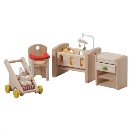 Plan Toys Dolls House Nursery & Baby
