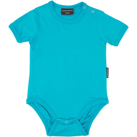 Maxomorra Turquoise Short Sleeve Body Suit