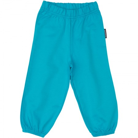 Maxomorra Turquoise Baby Trousers