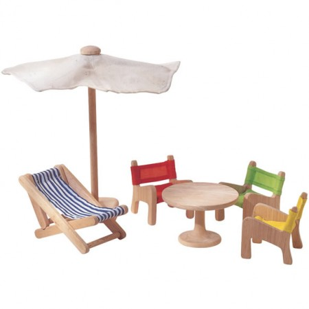 Plan Toys Dolls House Patio Furniture