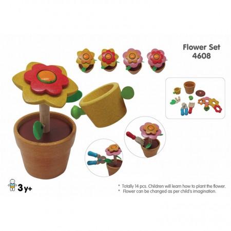 Plan Toys Flower Set