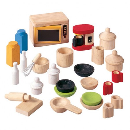 Plan Dolls House Kitchen Accessories & Tableware