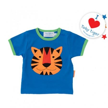 Toby Tiger Applique T-Shirt