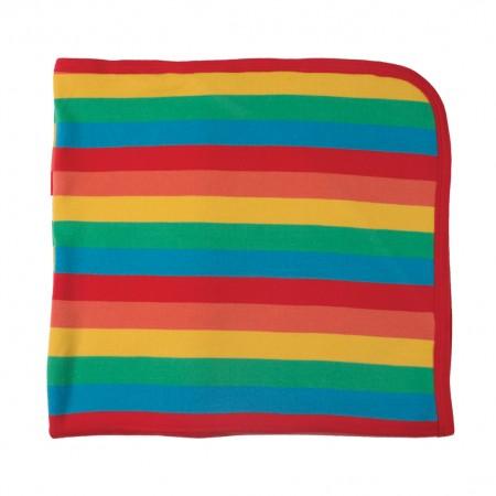 Frugi Lovely Blanket - Happy Rainbow