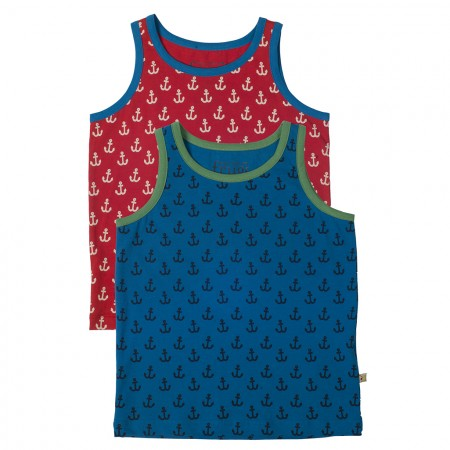 Frugi Anchor Woody Vests x 2